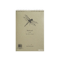 Luonnoslehtiö SMLT A4 80g 100 sivua