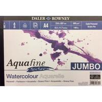 Akvarellilehtiö DR Aquafine A4 300g 50 sivua Jumbo