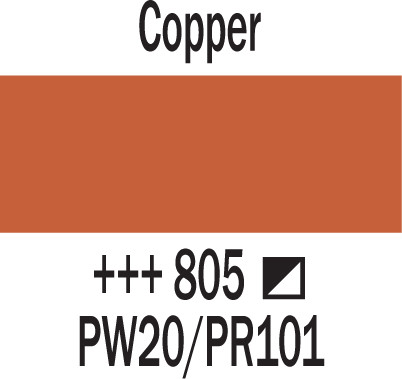 Amsterdam 500ml 805 copper