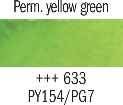 Gogh akv. 10ml 633 Perm. yellow green