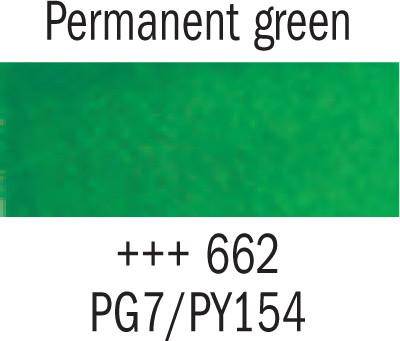 Gogh akv. 10ml 662 Permanent green