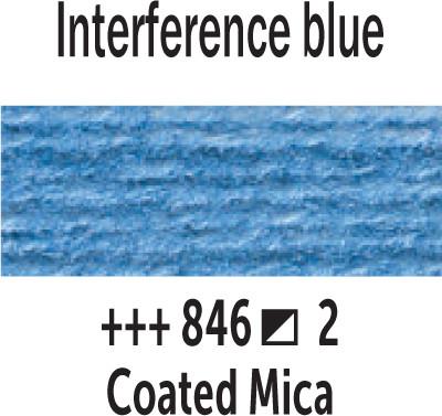 Van Gogh akv. 846 Interference blue