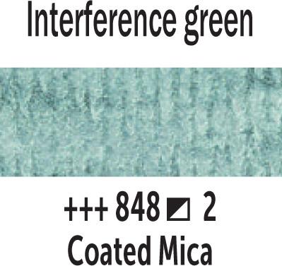 Van Gogh akv. 848 Interference green