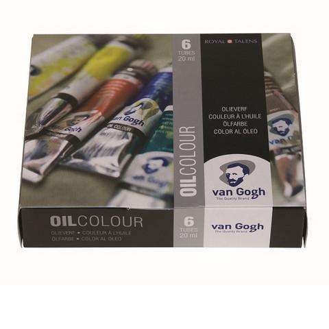 Öljyvärit Van Gogh 6x20ml tuubit