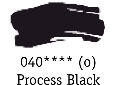 DR System 3 acrylic 500ml 040 Process black