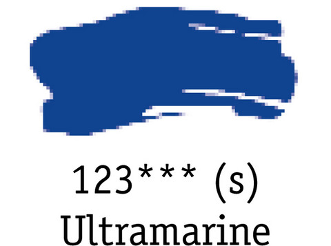 DR System 3 acrylic 500ml 123 Ultramarine
