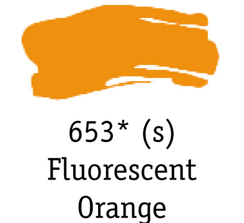 DR System 3 acrylic 500ml 653 Fluorescent orange