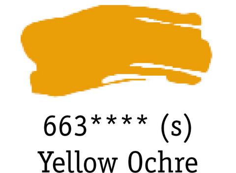 DR System 3 acrylic 500ml 663 Yellow ochre