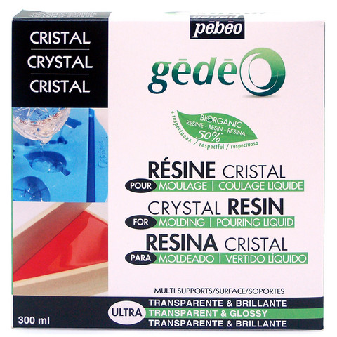 Pebeo Crystal Resin valuhartsi 300g