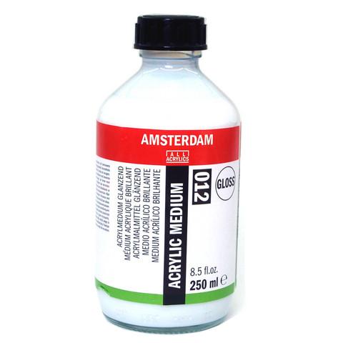 Maalausmedium kiiltävä 012 Amsterdam 250ml