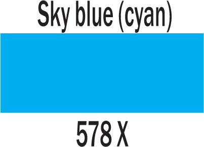 Ecoline Brushpen 578 SKY BLUE CYAN