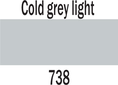 Ecoline Brushpen 738 COLD GREY LIGHT
