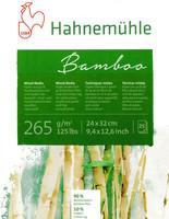 Sekatekniikkalehtiö Hahnemühle Bamboo 24 x 32cm 265gm 25 sivua
