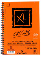 Luonnoslehtiö Canson Croquis A5 90gm 60 sivua