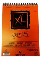 Luonnoslehtiö Canson Croquis A4 90gm 120 sivua