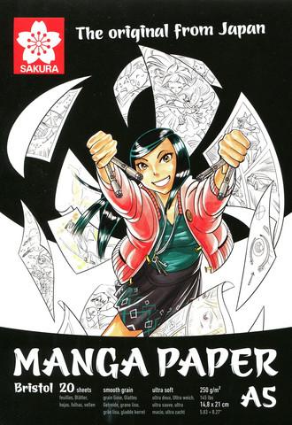Tussipaperi Sakura Manga  A5 250gm 20 sivua