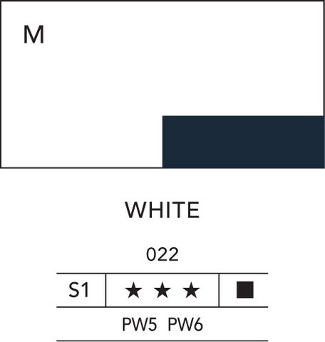 L&B Flashe Acrylic 80ml 022 White