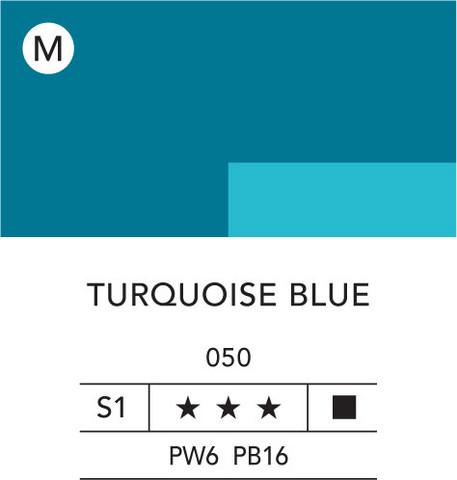 L&B Flashe Acrylic 80ml 050 Turquoise blue