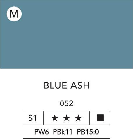 L&B Flashe Acrylic 80ml 052 Ash blue