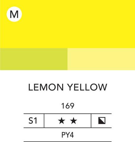 L&B Flashe Acrylic 80ml 169 Lemon Yellow