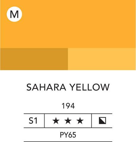 L&B Flashe Acrylic 80ml 194 Sahara yellow