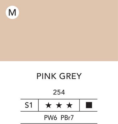 L&B Flashe Acrylic 80ml 254 Pink grey
