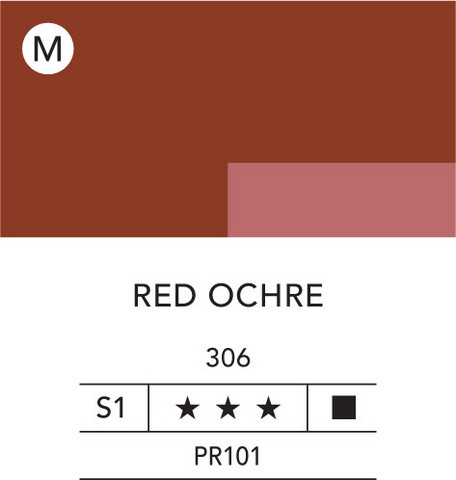 L&B Flashe Acrylic 80ml 306 Red Ochre