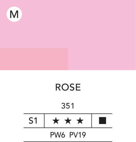 L&B Flashe Acrylic 80ml 351 Rose