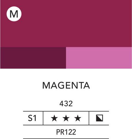 L&B Flashe Acrylic 80ml 432 Magenta