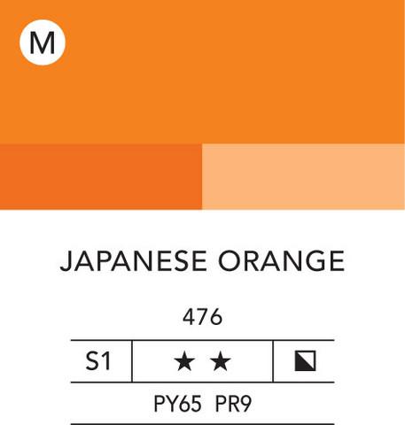 L&B Flashe Acrylic 80ml 476 Japanese Yellow