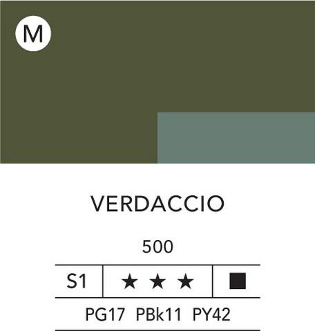L&B Flashe Acrylic 80ml 500 Verdaccio (green)