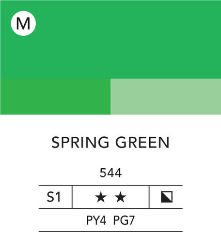 L&B Flashe Acrylic 80ml 544 Spring Green