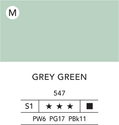 L&B Flashe Acrylic 80ml 547 Grey green