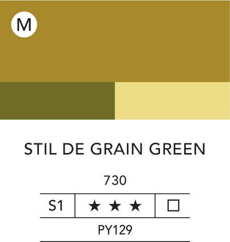 L&B Flashe Acrylic 80ml 730 Stil de Grain Green