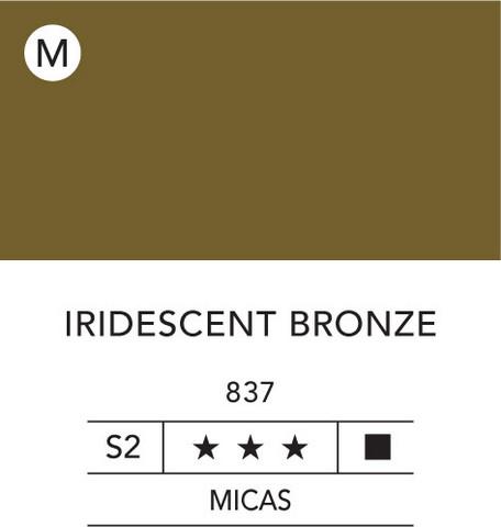 L&B Flashe Acrylic 80ml 837 Bronze Iridescent