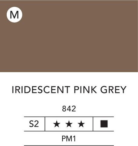 L&B Flashe Acrylic 80ml 842 Pink grey iridescent