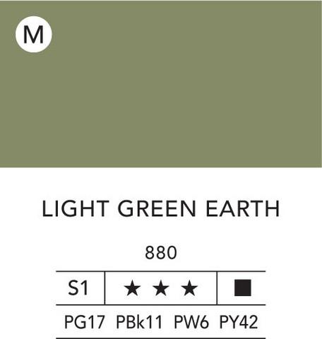 L&B Flashe Acrylic 80ml 880 Light Green Earth