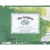 Vesivärilehtiö DR Langton 40x50cm 300g 12 arkkia