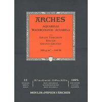 Vesivärilehtiö Arches A3 karkea 300g 12 sivua