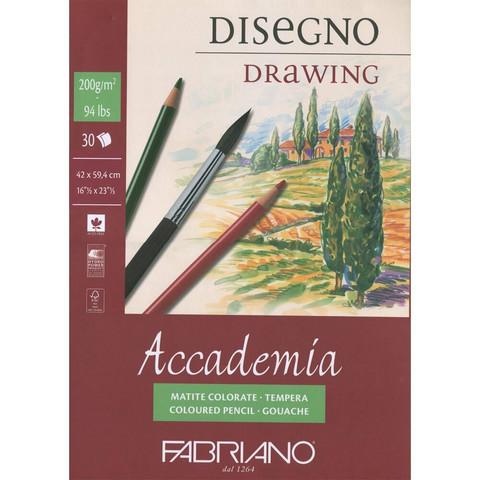 Fabriano Accademia piirustuslehtiö A2