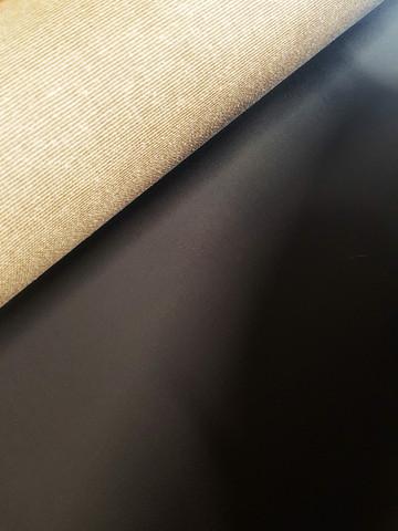 Mustaksi pohjustettu puuvilla 330g 210cm x 10m