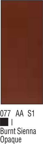 W&N Galeria 60ml 077 Burnt sienna opaque