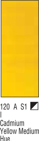 W&N Galeria 60ml 120 Cadm yellow med hue