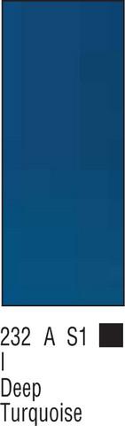 W&N Galeria 60ml 232 Deep turquoise