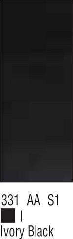 W&N Galeria 60ml 331 Ivory black