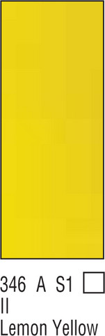 W&N Galeria 60ml 346 Lemon yellow
