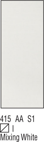 W&N Galeria 60ml 415 Mixing white