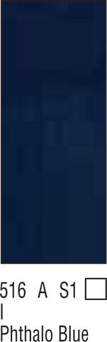 W&N Galeria 60ml 516 Phthalo blue