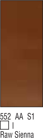 W&N Galeria 60ml 552 Raw sienna