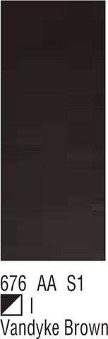 W&N Galeria 60ml 676 Vandyke brown